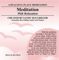 Peaceful Place Series No. 05 - Meditation (Download)
