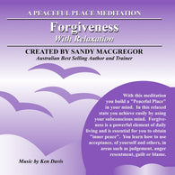 Peaceful Place Series No. 06 - Forgiveness (CD)