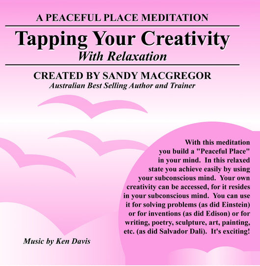 Peaceful Place Series No. 07 - Tapping Your Creativity (CD)