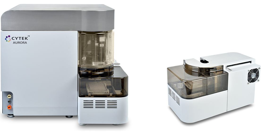 Cytek's Automatic Micro-Sampling System (AMS) with the Aurora