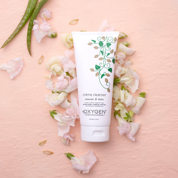 crème cleanser for normal / combination skin New Zealand natural skincare - OxygenSkincare