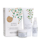 Oxygen natural skincare - Problem Skin Pack. Problem Skin Cleanser, Toner and Moisturiser