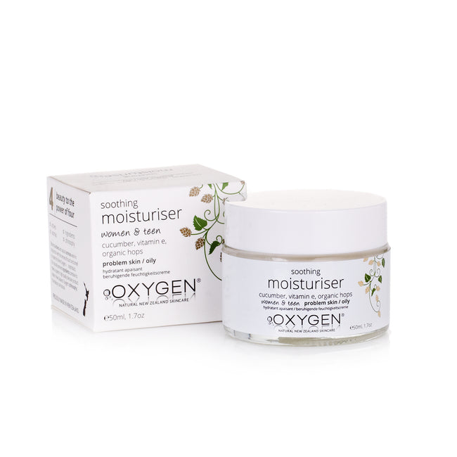 women & teen soothing moisturiser for problem / sensitive / oily skin