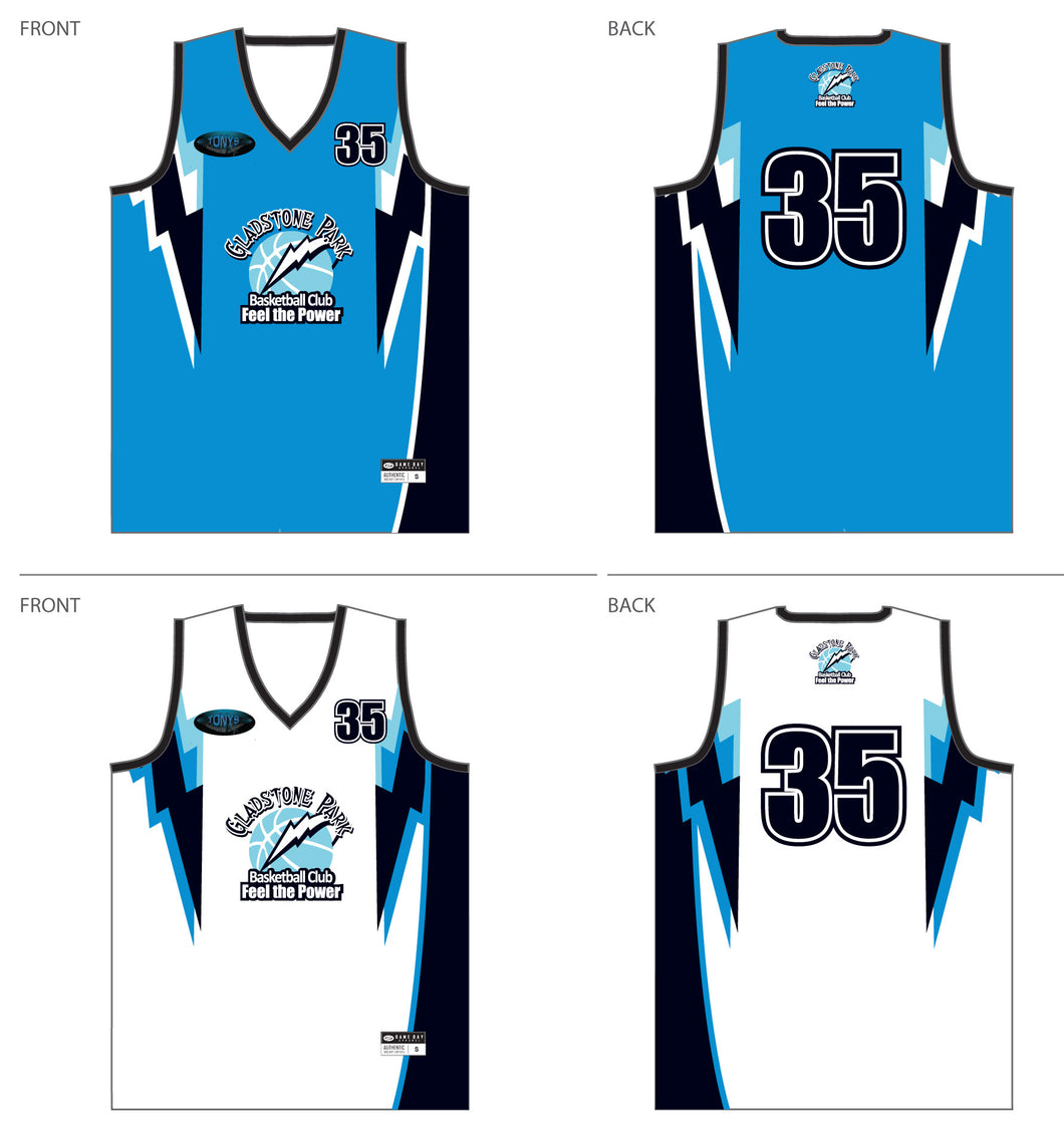 PRE-SALE ITEM - GPBC REVERSIBLE PLAYING SINGLET