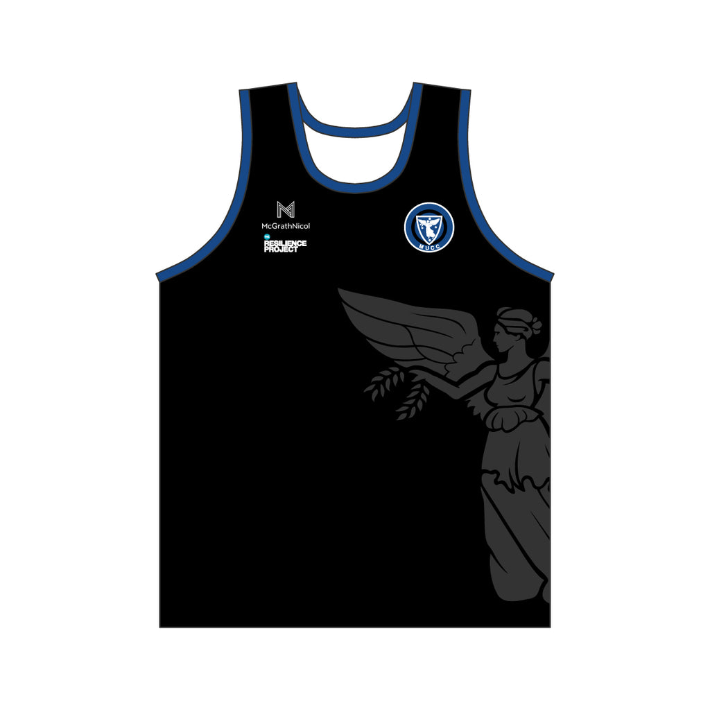 MUCC MENS BLACK SINGLET
