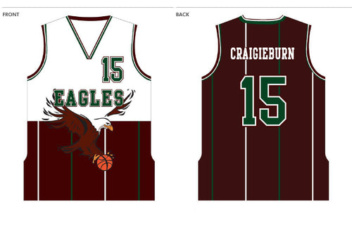 PRE-SALE ITEM - CRAIGIEBURN EAGLES PLAYING SINGLET