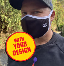 Sublimated Face Mask - CUSTOM MADE IN YOUR DESIGN