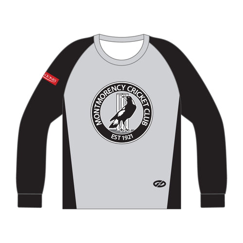 MCC JUNIOR TRAINING TOP - LONG SLEEVE WITH NAME