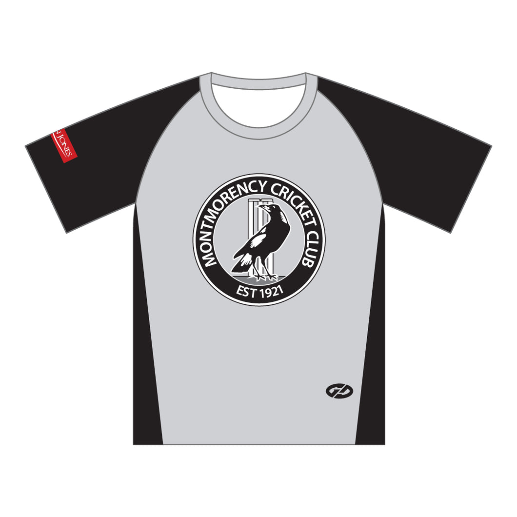 MCC JUNIOR TRAINING TOP - SHORT SLEEVE WITH NAME