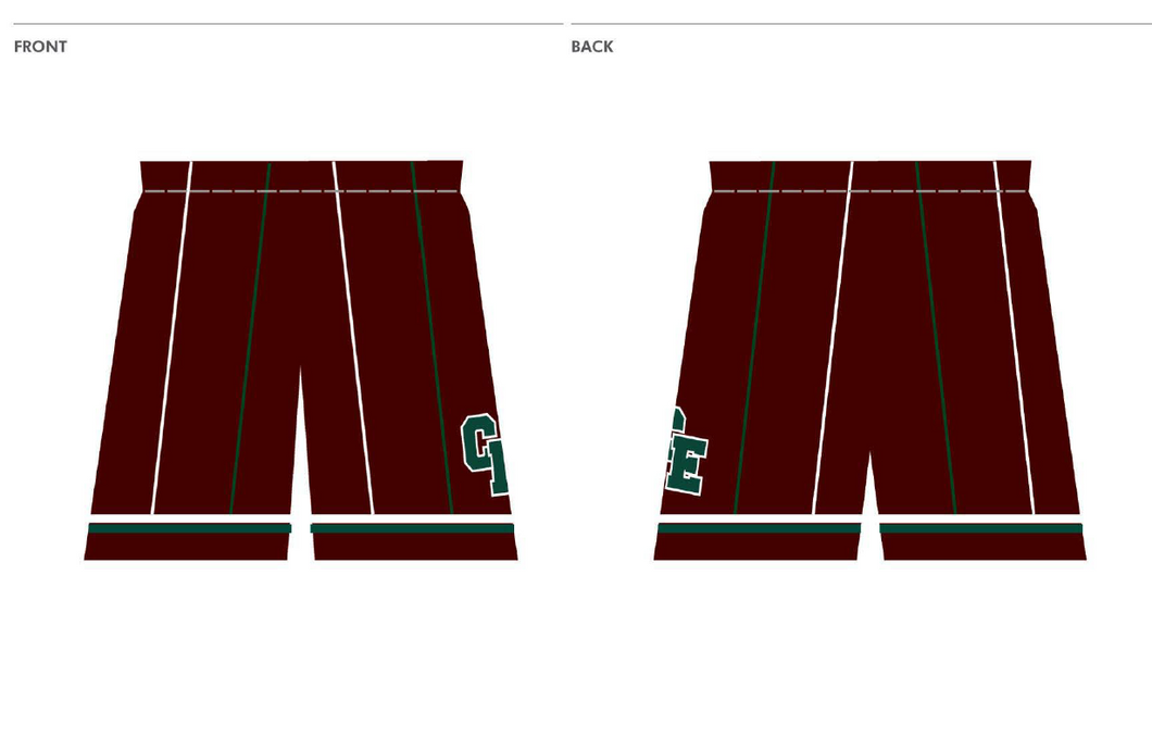 PRE-SALE ITEM - CRAIGIEBURN EAGLES PLAYING SHORTS