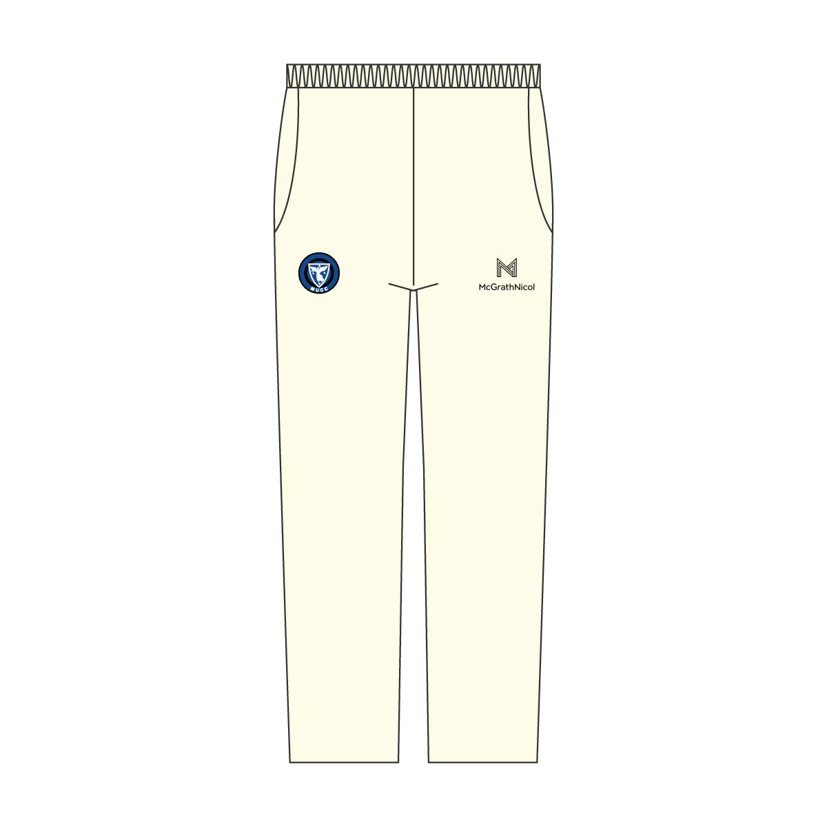 MUCC MENS TWO DAY CREAM PANTS