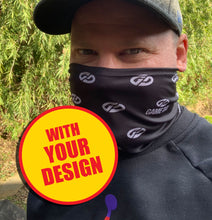 Sublimated Snood - CUSTOM MADE IN YOUR DESIGN