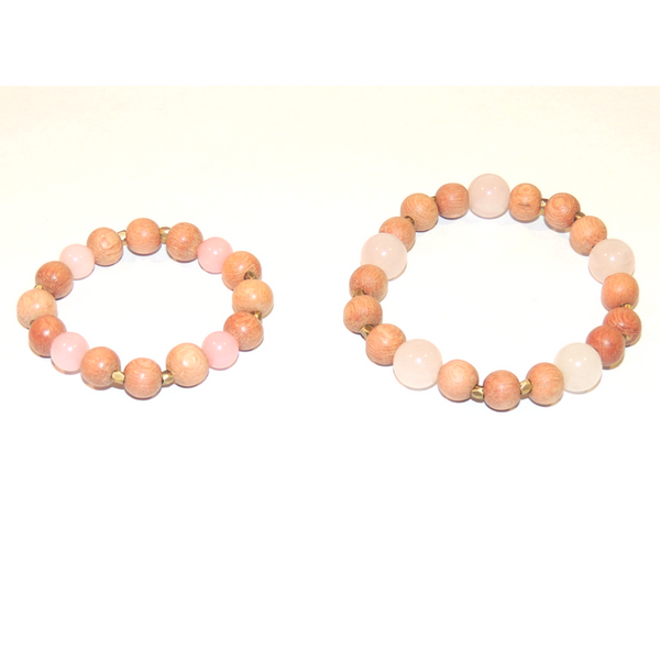 A Mother's Purpose Mother/Daughter Blessing Bracelet Set