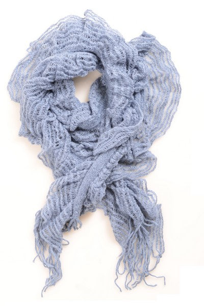 Fashion Scarf - Baby Blue