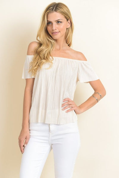 Havana Nights Off-Shoulder Top