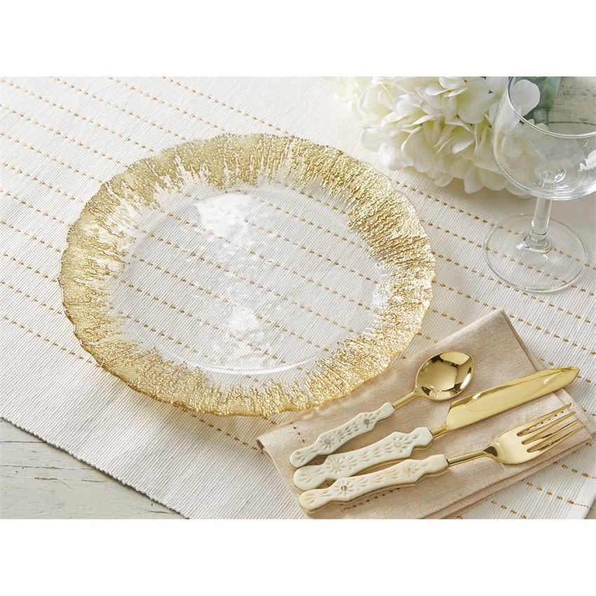 Gold Edge Plate