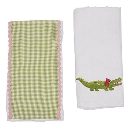 Double Burp Cloth Gift Set