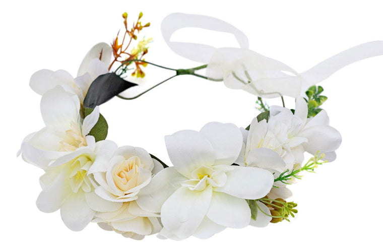 Deluxe Floral Headpiece