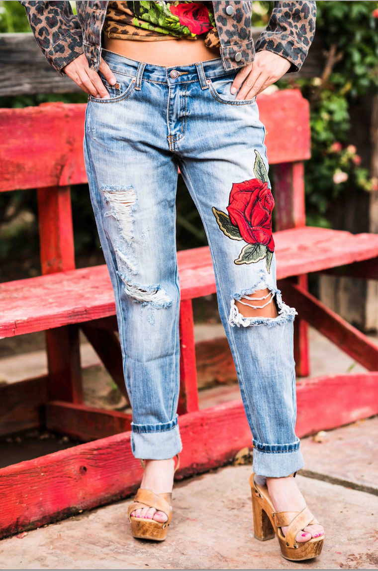 Ella Rose Denim Pants