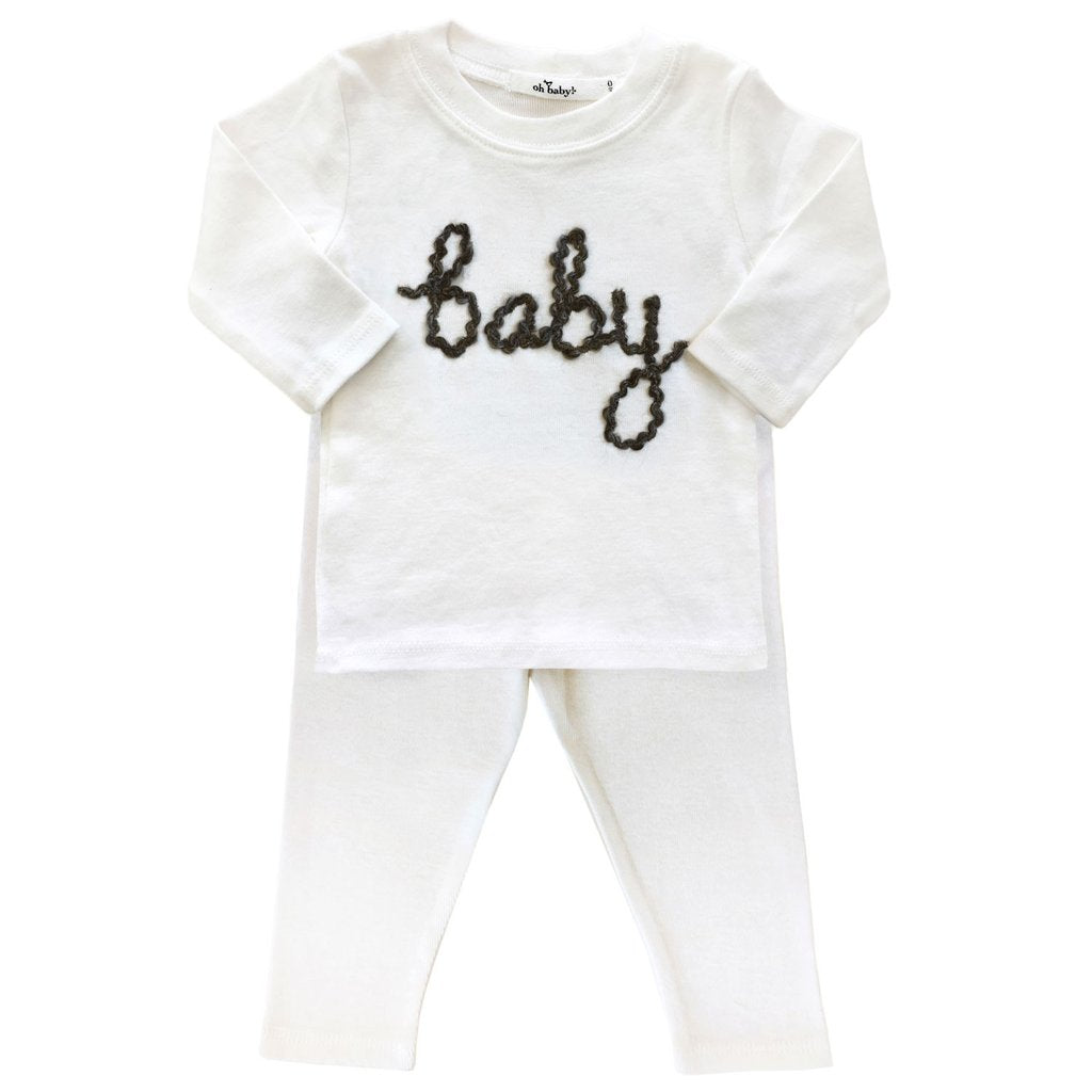 Cream Baby 2pc Set