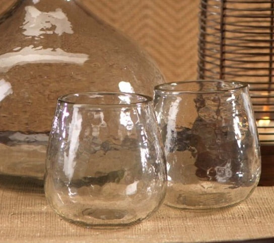 Bubble Glass Stemless Glass