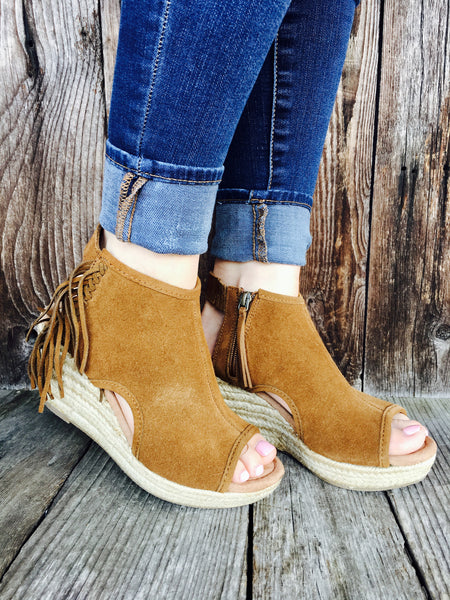 Blaire Wedge Brown