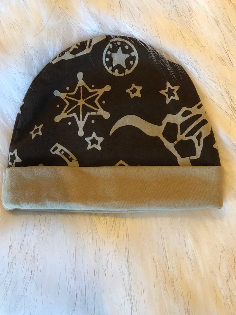 Boy Brown Rodeo Hat