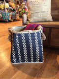 Wicker Basket W/ Rope Handle