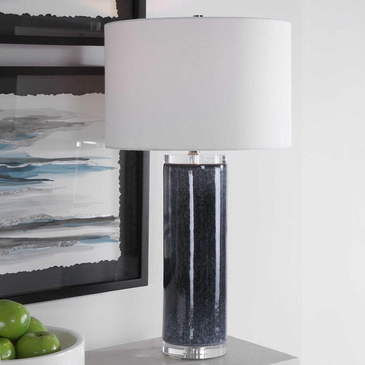 Midnight Landscape Table Lamp