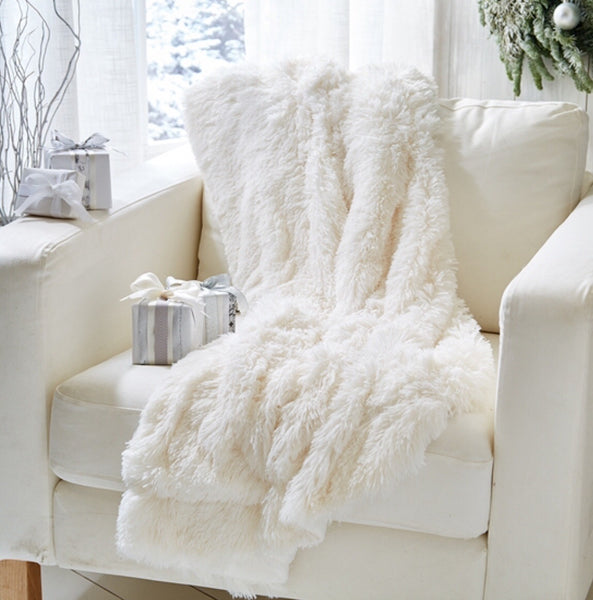 Artic White Lynx Faux Fur
