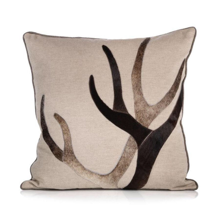 Aman Throw Pillow W/Hair