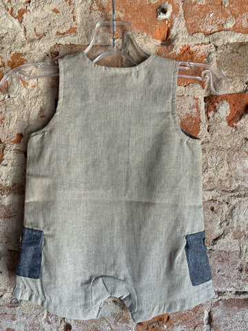 Farm Animal Applique Shortall