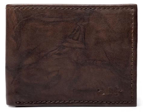 Benjamin Leather  Bifold W/Pocket