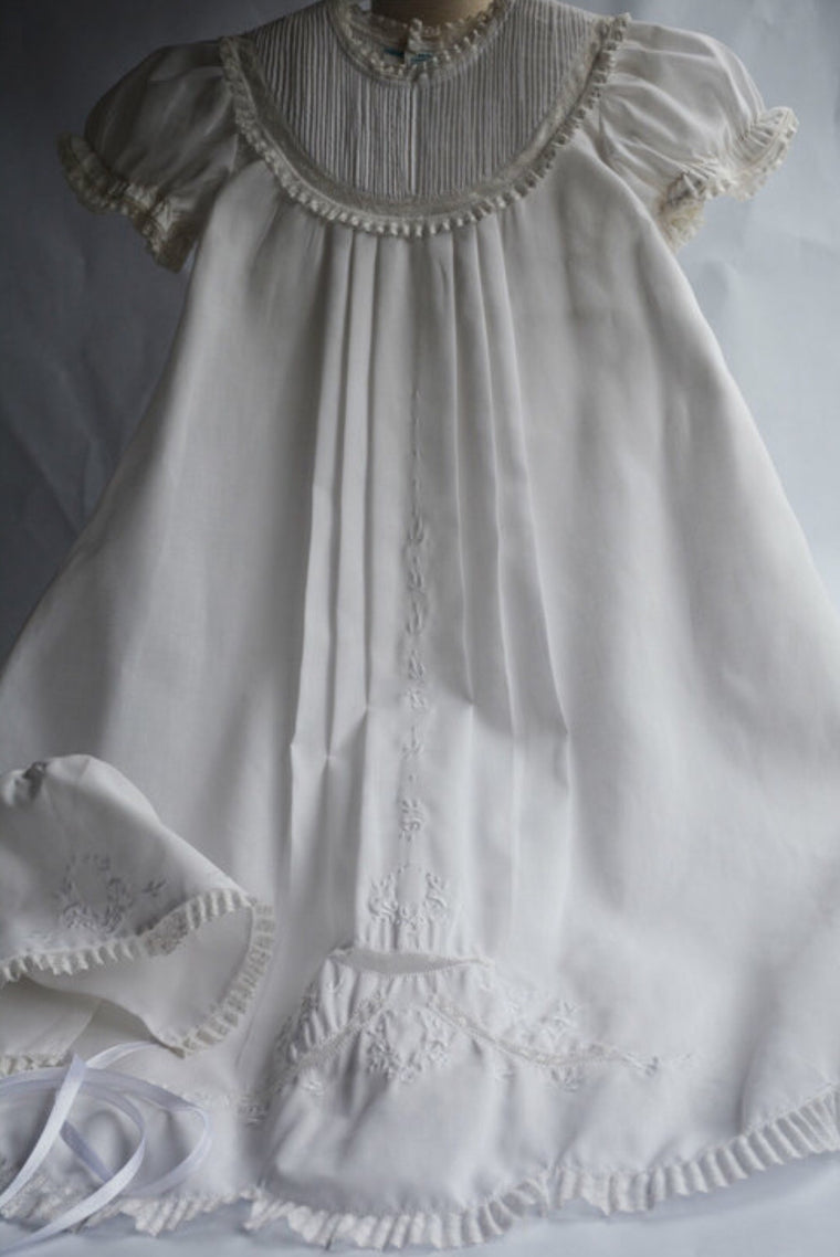Christening Gown/Hat