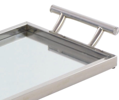 Metal/Glass Mirror Tray Small