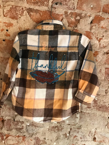 L/S Plaid Flannel Shirt