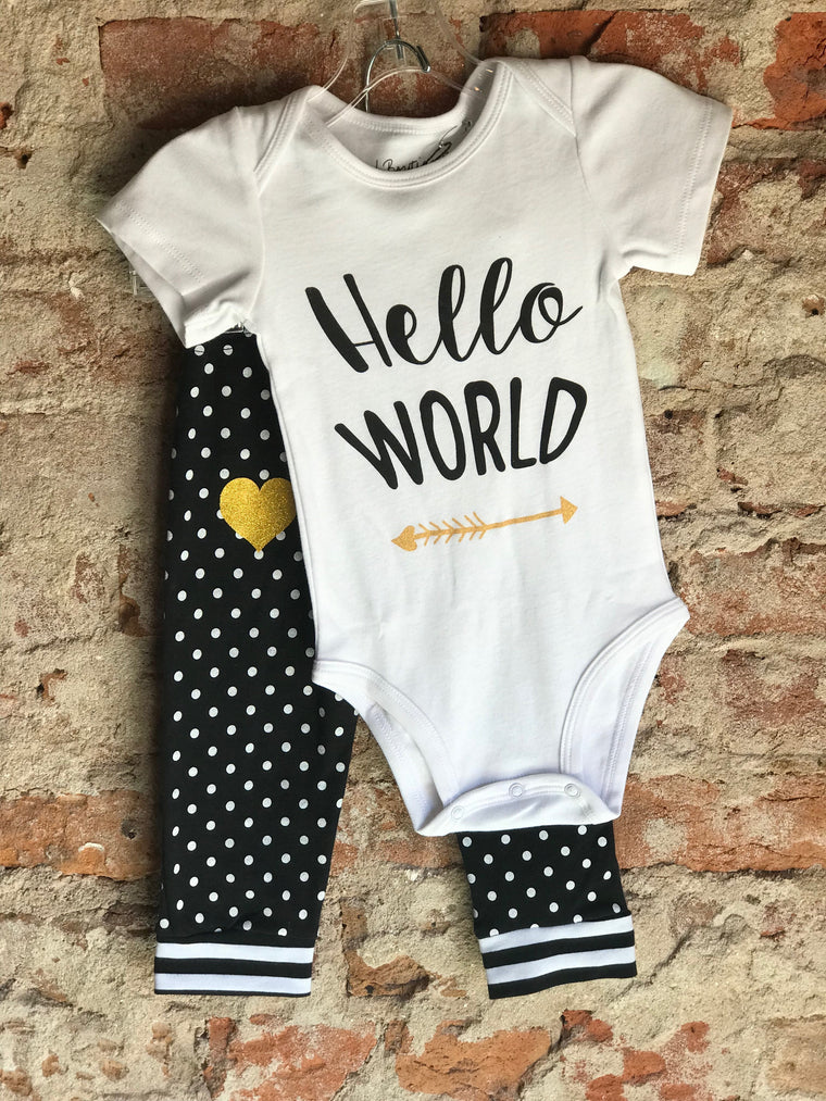 Baby Apparel Set