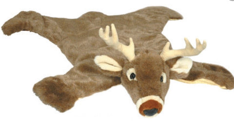 Longhorn And Whitetail Deer Rug