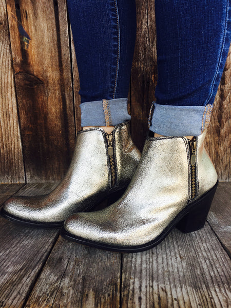 Croste Platinum Booties