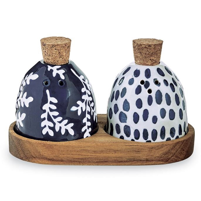 Blue Salt/Pepper Set