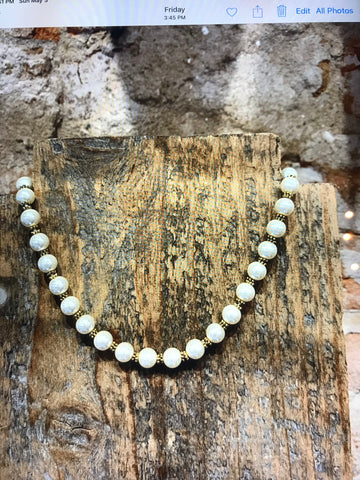 Vivienne Knotted Pearl Choker