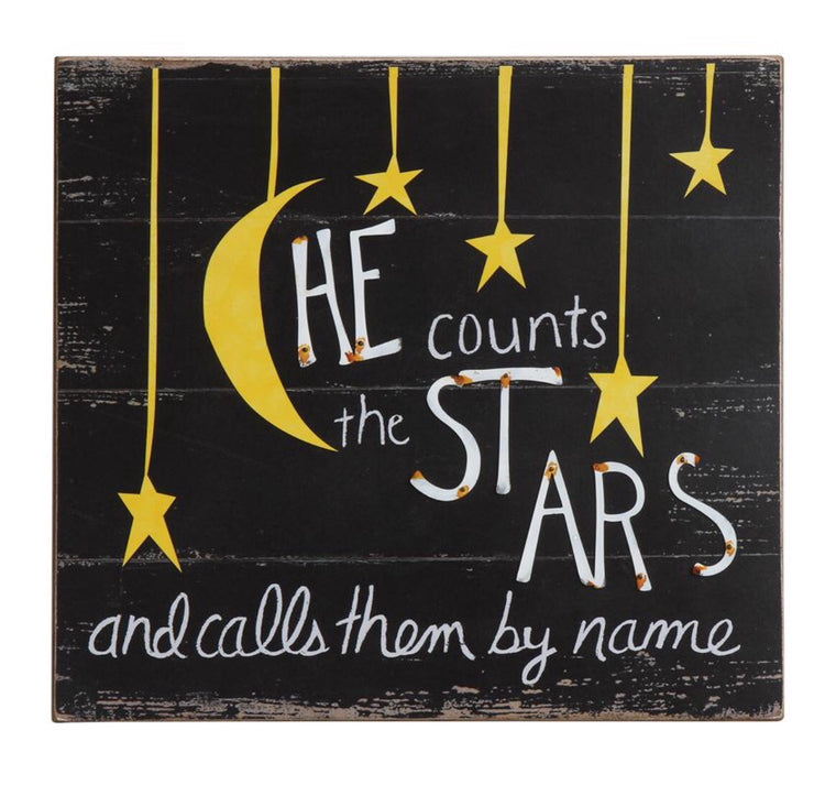"""He Counts The Stars"" Wall Art"