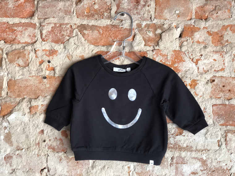 Soho Boxy Smiley Slvr Foil