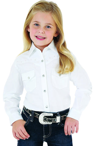 Girl's Classic L/S Western Snap Shirt