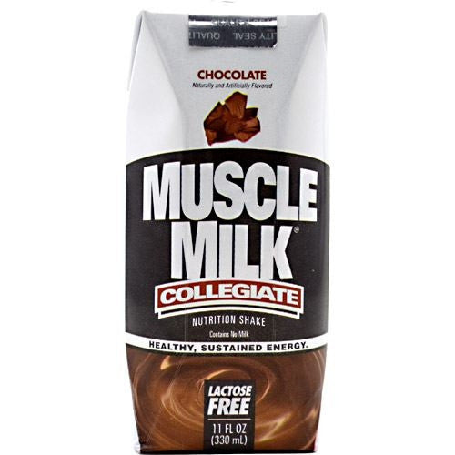 CytoSport Collegiate Muscle Milk RTD - Chocolate - 12 ea - 50876063004119