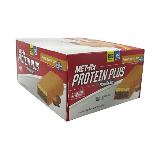 MET-Rx Protein Plus - Peanut Butter Cup - 9 Bars - 786560557139