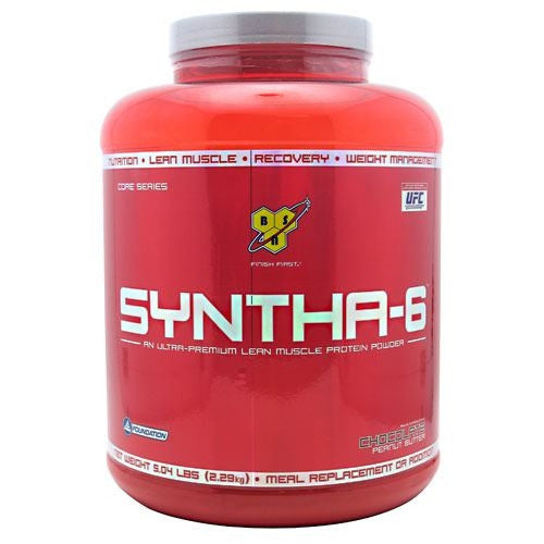 BSN Syntha-6 - Chocolate Peanut Butter - 5.04 lb - 834266007455