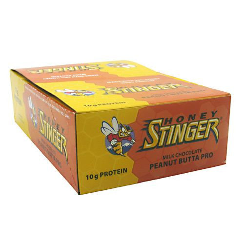 Honey Stinger Stinger Bar - Milk Chocolate Peanut Butta Pro - 15 Bars - 810815020687