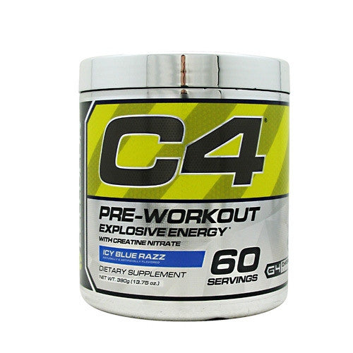 Cellucor Chrome Series C4 - Icy Blue Razz - 60 Servings - 810390023981