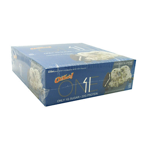 ISS OhYeah! One Bar - Cookies and Creme - 12 Bars - 788434108386